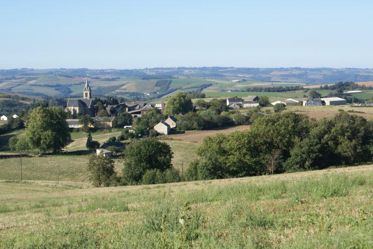 Panoramique village de Brasc